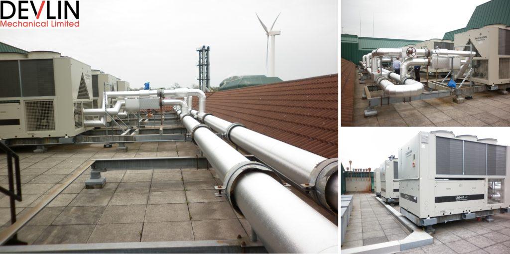 Antrim Area Hospital - Chiller Plant Replacement - Devlin Mechanical Ltd