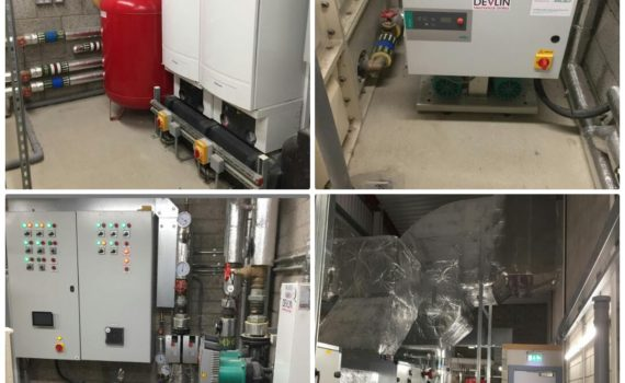 St Columbs College, Derry - Devlin Mechanical Complete Full Mechanical Services Installation